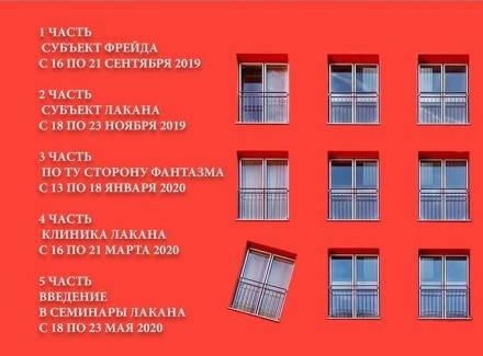 Курс «Психоанализ Фрейда-Лакана». 2019-2020.