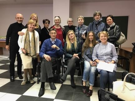 ХХXIX клинический семинар под руководством члена IPA Dr. Alexandre Nepomiachty (France)